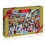 Gibsons - All Wrapped Up for Christmas, 2017 Puzzle 1000 Pieces