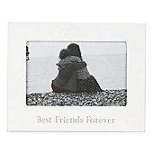 Best Friends Forever White Photo Frame