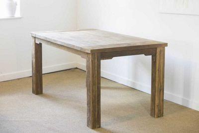 Reclaimed Teak Taplock Dining Table 180cm
