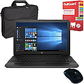 "HP 250 G5 X0Q78ES#ABU 15.6"" Laptop Intel Core i5-6200U 16GB 256GB With Internet Security, Case & Mouse"