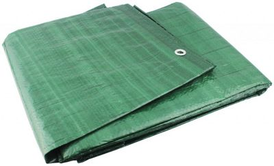 Yellowstone Ripstop Waterproof Groundsheet Green 12ft x 8ft