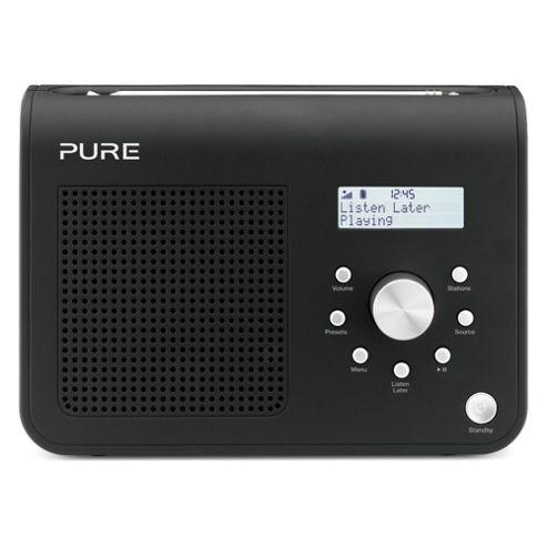 Pure One Classic SII DAB/FM Radio Black
