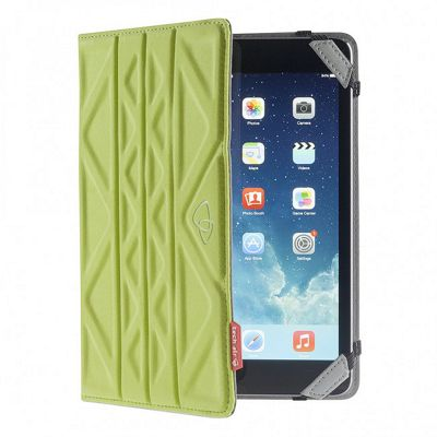 Techair Reversible Tablet Case (Green/Light Grey) for 7 inch Universal Tablet