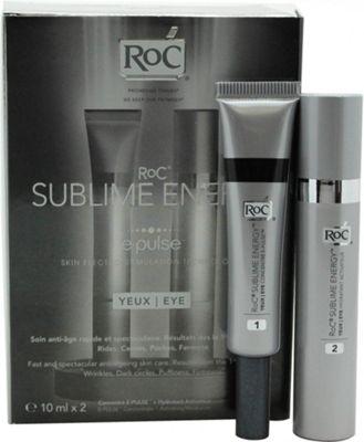 Roc Sublime Energy E-Pulse Eye Gift Set 2 x 10ml Anti-Aging Cream