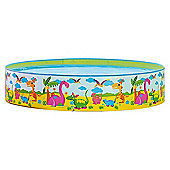 "Jilong Dinosaur Rigid Play Pool 240cm x 38cm (94"" x 15"")"