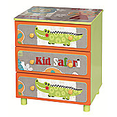 Liberty House Kid Safari 3 drawer cabinet