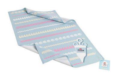 Tala Retro Icing Patterns Design Tea Towel