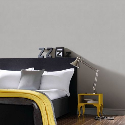 Superfresco Easy Paste The Wall Fade Grey Textured Plain Wallpaper