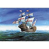 Zvezda - Conquistadores Ship 'San Gabriel' XVI Cent 1/100 9008