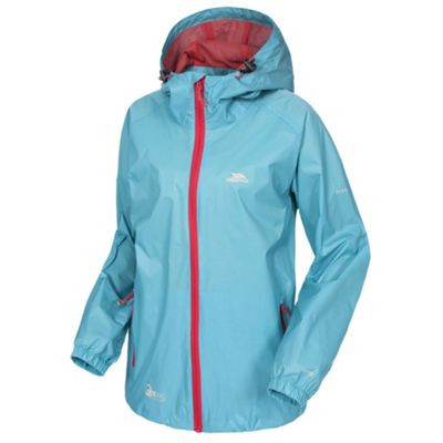 Trespass Ladies Qikpac Jacket Aquatic S