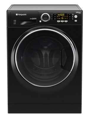 Hotpoint Ultima S-Line Washer Dryer, RD966JKDUK, 9KG load, with 1600 rpm - Black