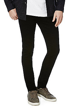 F&F Stretch Skinny Jeans - Black