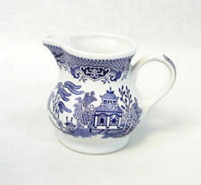 Churchill China Blue Willow Georgian Cream and Milk Serving Jug WBMBCJG & Buy Churchill China Blue Willow Georgian Cream and Milk Serving Jug ...
