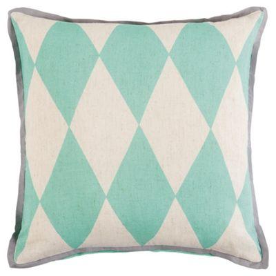 Diamond Cushion Mint