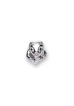 Jo For Girls Silver Cat Slide On Bead