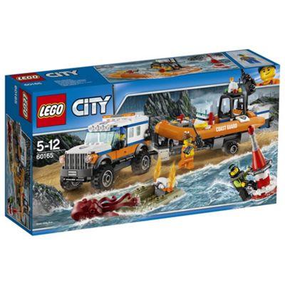 LEGO City Coast Guard 4 x 4 Response Unit 60165