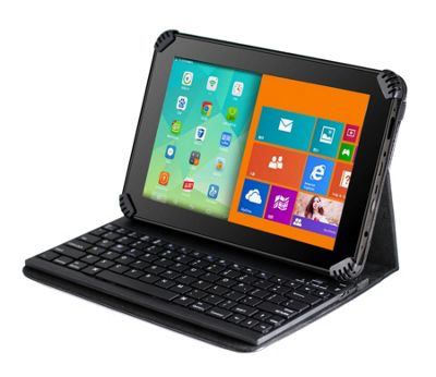 Navitech Black Bluetooth Keyboard Case For The HP Pro Slate 8