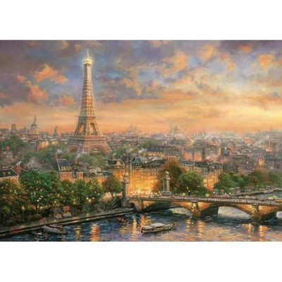 Paris - City of Love - 1000pc Puzzle