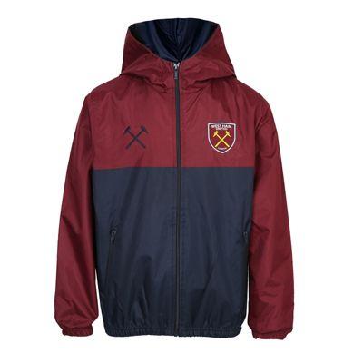 West Ham United FC Boys Shower Jacket 6-7 Years SB