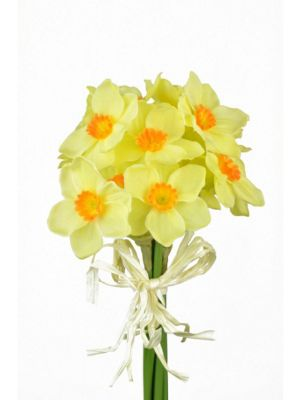 Artificial - Daffodil Bundle - Yellow / Orange