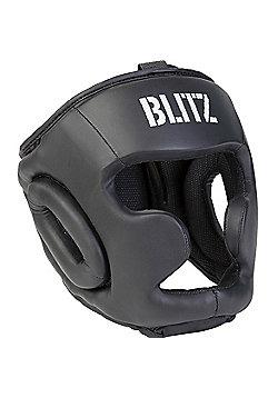 Blitz - Club Full Contact Head Guard - Black