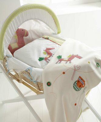 Mamas & Papas - Gingerbread - Moses Basket
