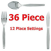 Tiny Dining 36 Piece Childrens Cutlery Set (Knives, Forks and Dessert Spoons)