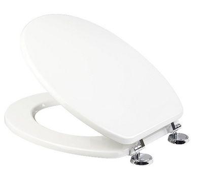 Croydex White Jackson 'Sit Tight' No More Movement - Anti-Bacterial Toilet Seat