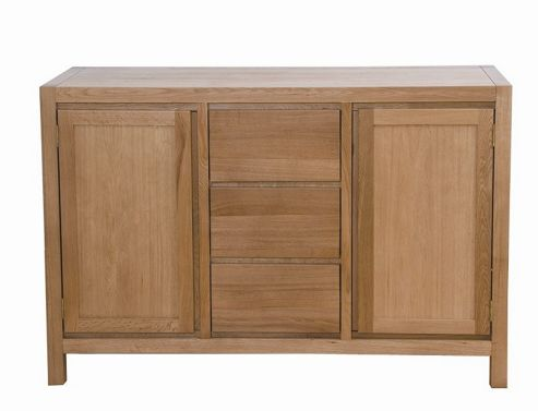 G&P Furniture Cubic Oak Sideboard