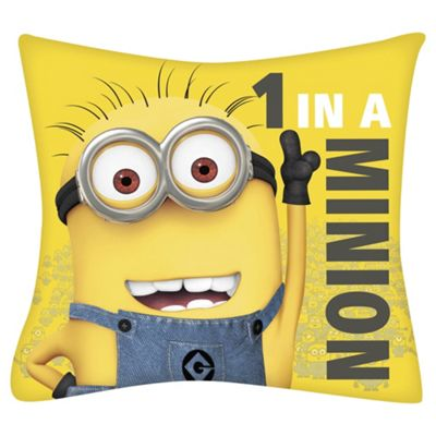 Despicable Me One in a Minion Cushion
