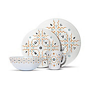 The Summertime 16 Piece Melamine Set (4 Person)