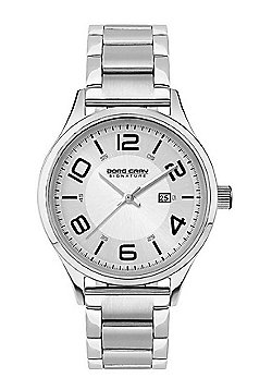 Ladies Watch JGS2571B - Silver Stainless Steel Strap - Silver Dial - Jorg Gray
