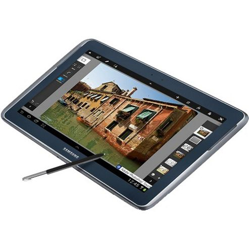 Samsung Galaxy Note 10.1 (10.1 inch) Tablet ARM Cortex (A9) 1.4GHz 1GB 16GB WLAN BT Webcam Android 4.0 (Grey)