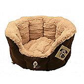 Yap Giraffe Oval Cat Bed (18in)
