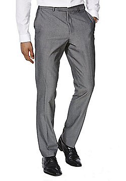 F&F Slim Fit Suit Trousers - Grey