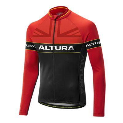 Altura Sportive Team LS Jersey Red/Black Size: L