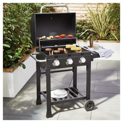 Tesco American 3 burner Gas BBQ