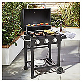 Tesco Barrel 3 burner Gas BBQ