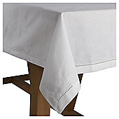 Cotton Tablecloth, White, 185x130cm