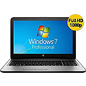 "HP 250 15.6"" Intel Core i3 4GB RAM 500GB Windows 7 Pro Laptop Silver"