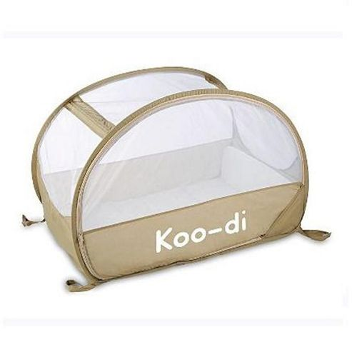 Koo-di Pop-Up Travel Bubble Cot Cafe Creme
