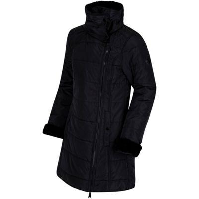 Regatta Penthea Faux Fur Collar Puffa Jacket 14 Black