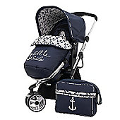 Obaby Chase Switch Pramette/Bag/Raincover/Mosquito Net - Little Sailor