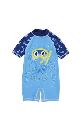F&F Octopus UPF50+ Surfsuit Blue 2-3 years