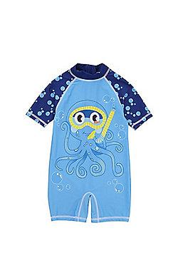 F&F Octopus UPF50+ Surfsuit - Blue