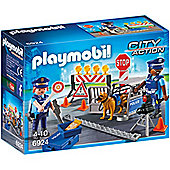 PLAYMOBIL Police Roadblock - City 6924