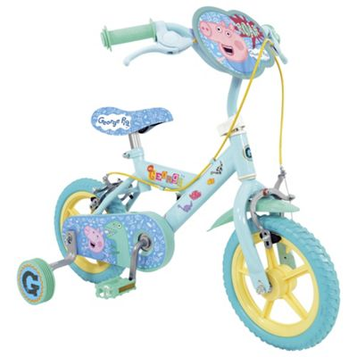 Buy Peppa Pig George 12 Kids Bike With Stabilisers From Our
