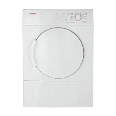 Bosch WTA74100GB Vented Tumble Dryer, 6kg, C Energy Rating, White