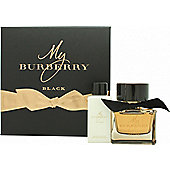 Burberry My Burberry Black Gift Set 50ml EDP + 75ml Body Lotion For Women