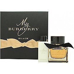 Burberry My Burberry Black Gift Set 50ml EDP + 75ml Body Lotion For Women